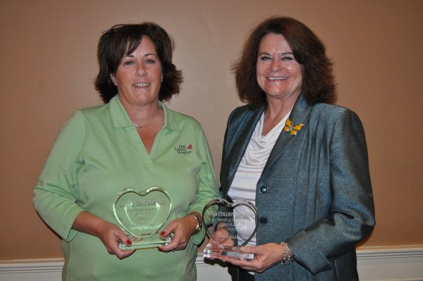 Spirit of Hospice Award Winners, 2012