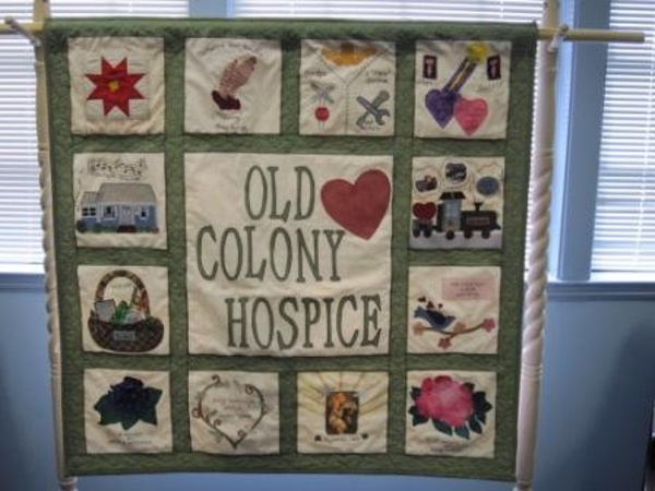 Our very first quilt!