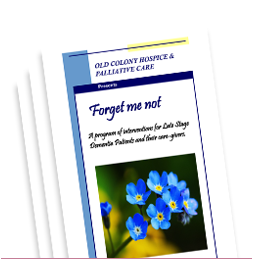 Old Colony Hospice Forget Me Not