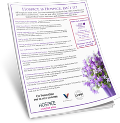 Hospice is Hospice Handout.png